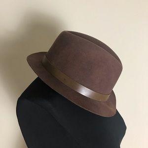 Rag & Bone Brown Fedora Hat